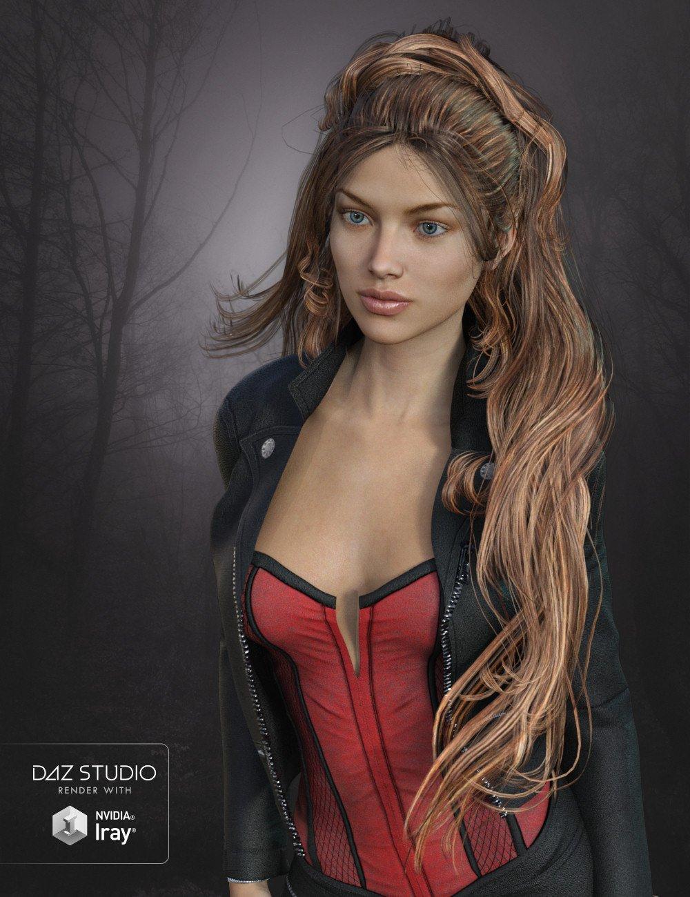 DragonFly Hair Genesis 3 Female(s), Genesis 2 Female(s) and V4 by: goldtassel, 3D Models by Daz 3D