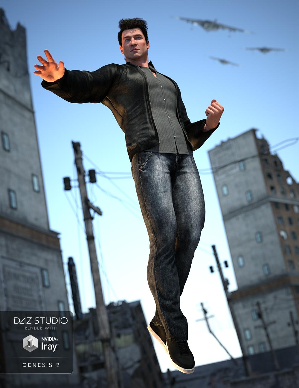 Alternate Identity for Genesis 2 Male(s) by: NikisatezSarsa, 3D Models by Daz 3D