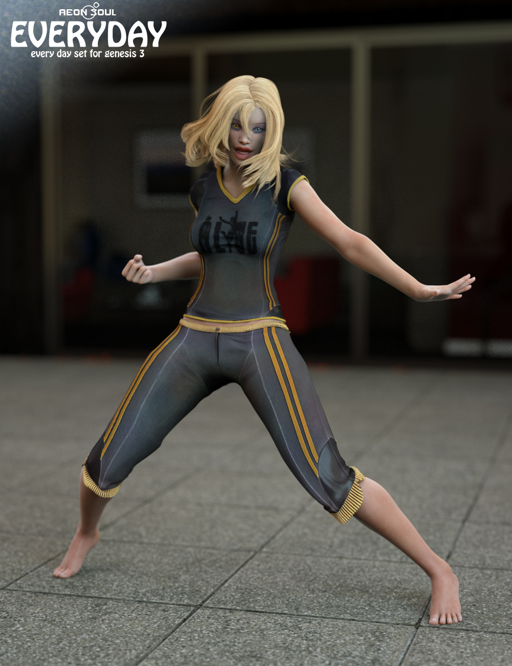 EveryDay for Genesis 3 Female(s) by: Aeon Soul, 3D Models by Daz 3D