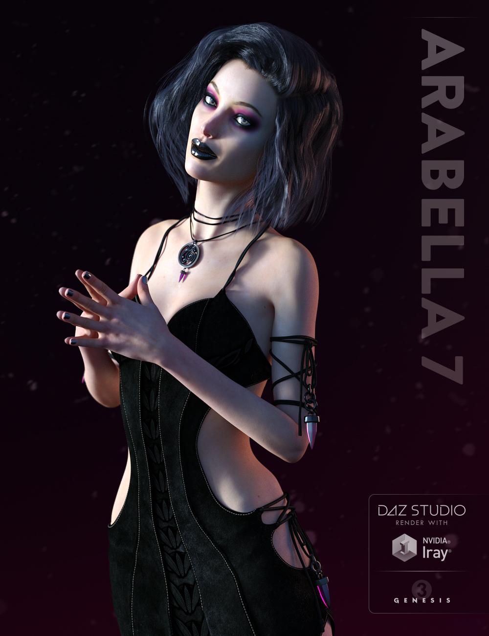 Arabella 7 by: , 3D Models by Daz 3D