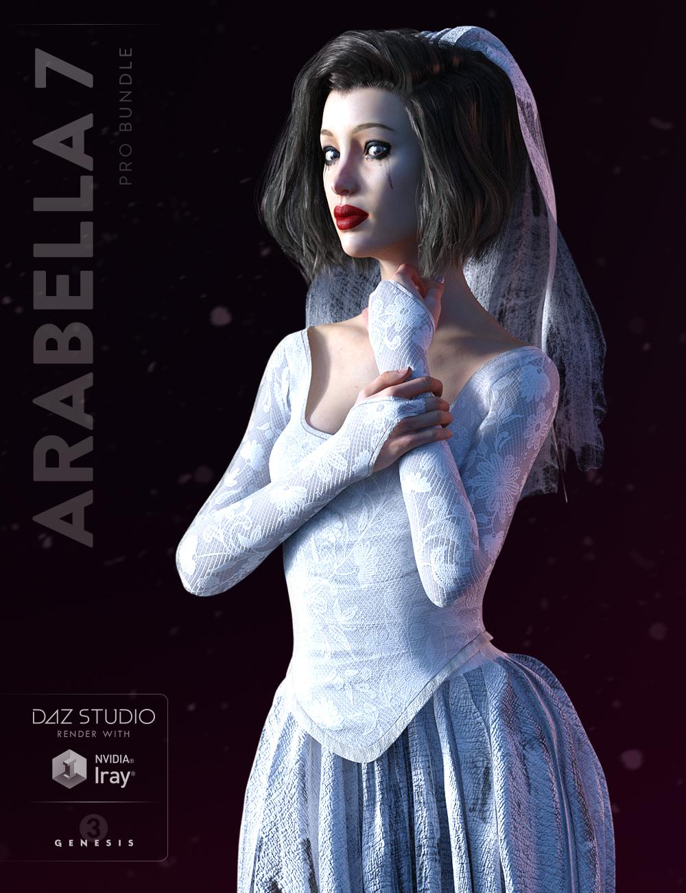 Arabella 7 Pro Bundle by: , 3D Models by Daz 3D