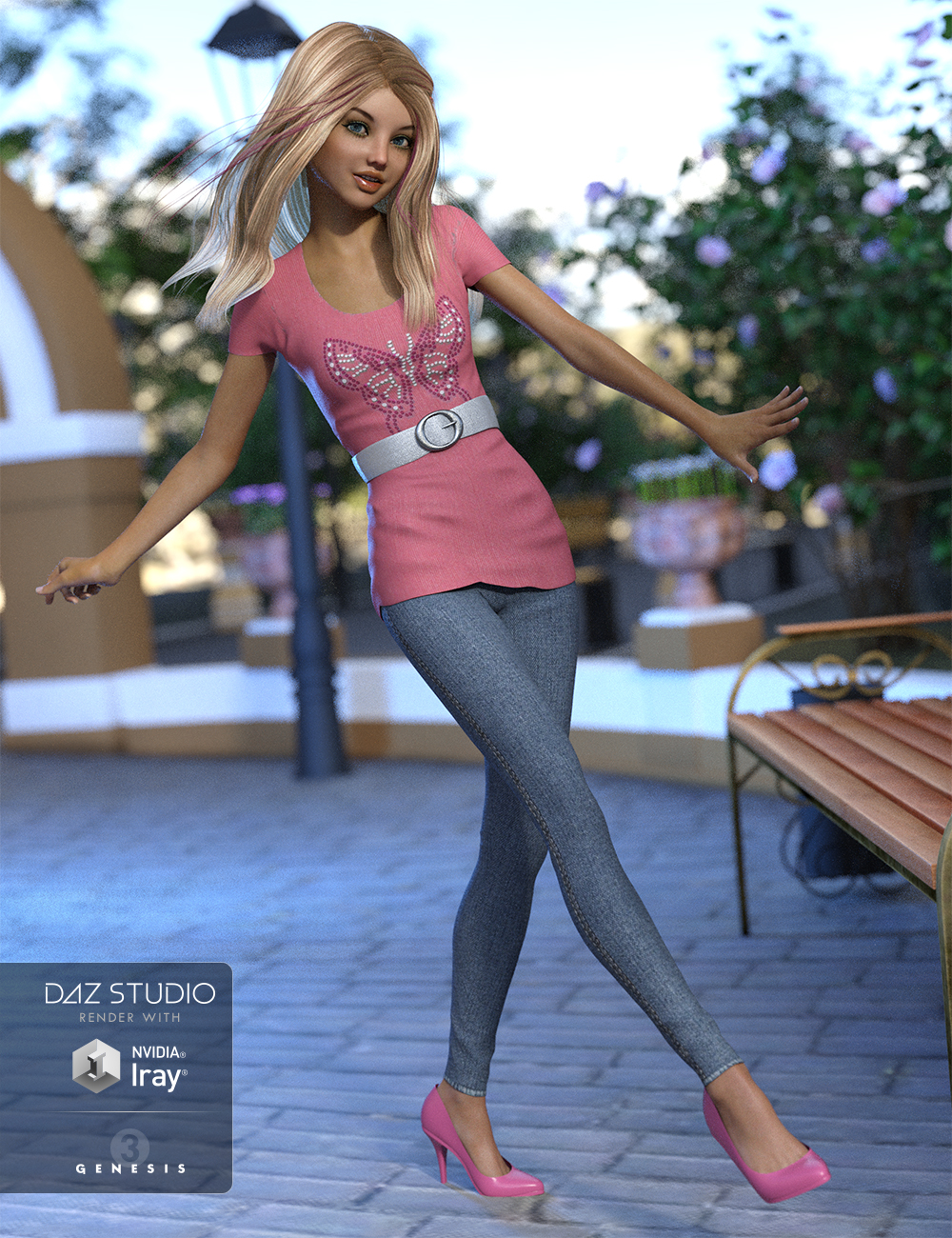 Abigail Outfit for Genesis 3 Female(s) by: NikisatezOziChick, 3D Models by Daz 3D