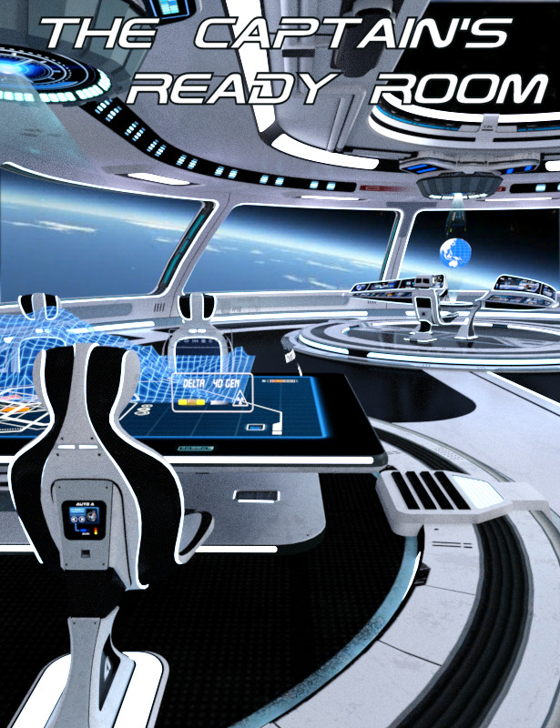 The Captain's Ready Room by: Kibarreto, 3D Models by Daz 3D