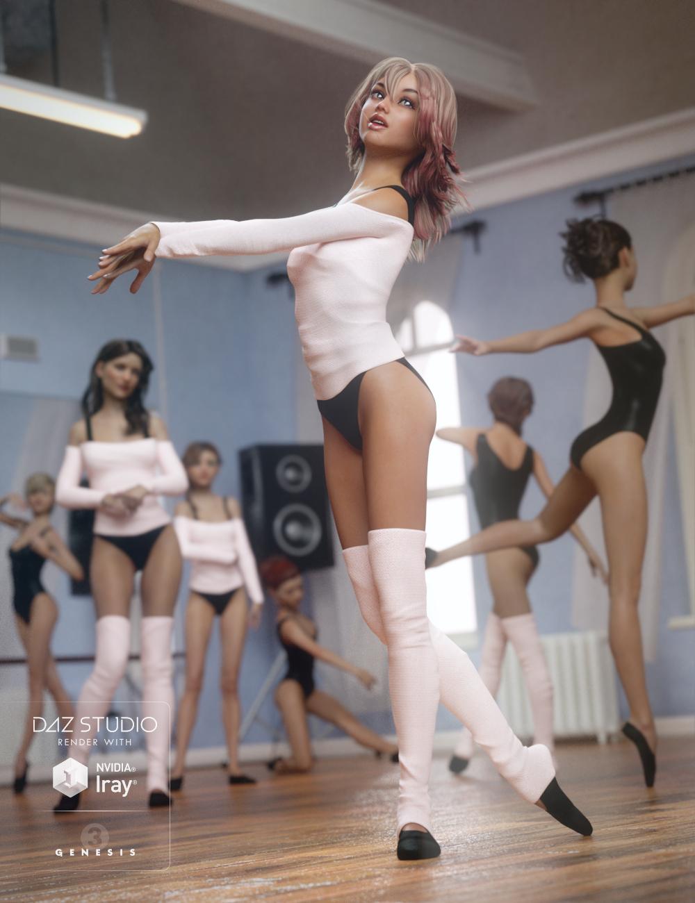 Dance Gear for Genesis 3 Female(s) by: NikisatezSarsa, 3D Models by Daz 3D