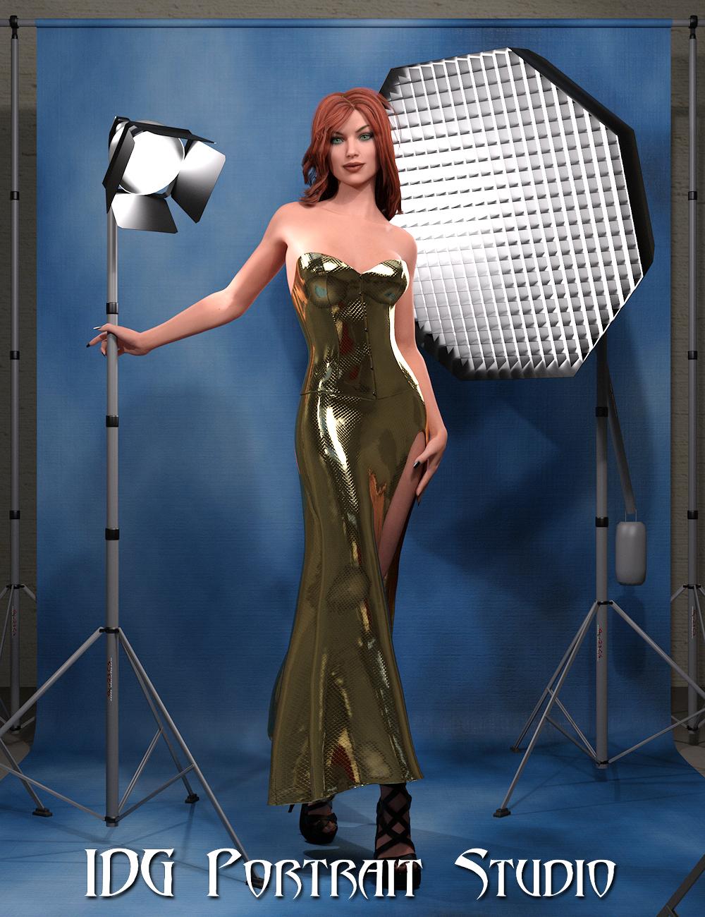 IDG Portrait Studio by: IDG DesignsDestinysGardenInaneGlory, 3D Models by Daz 3D