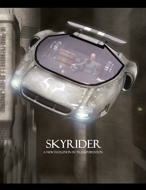 Skyrider by: , 3D Models by Daz 3D