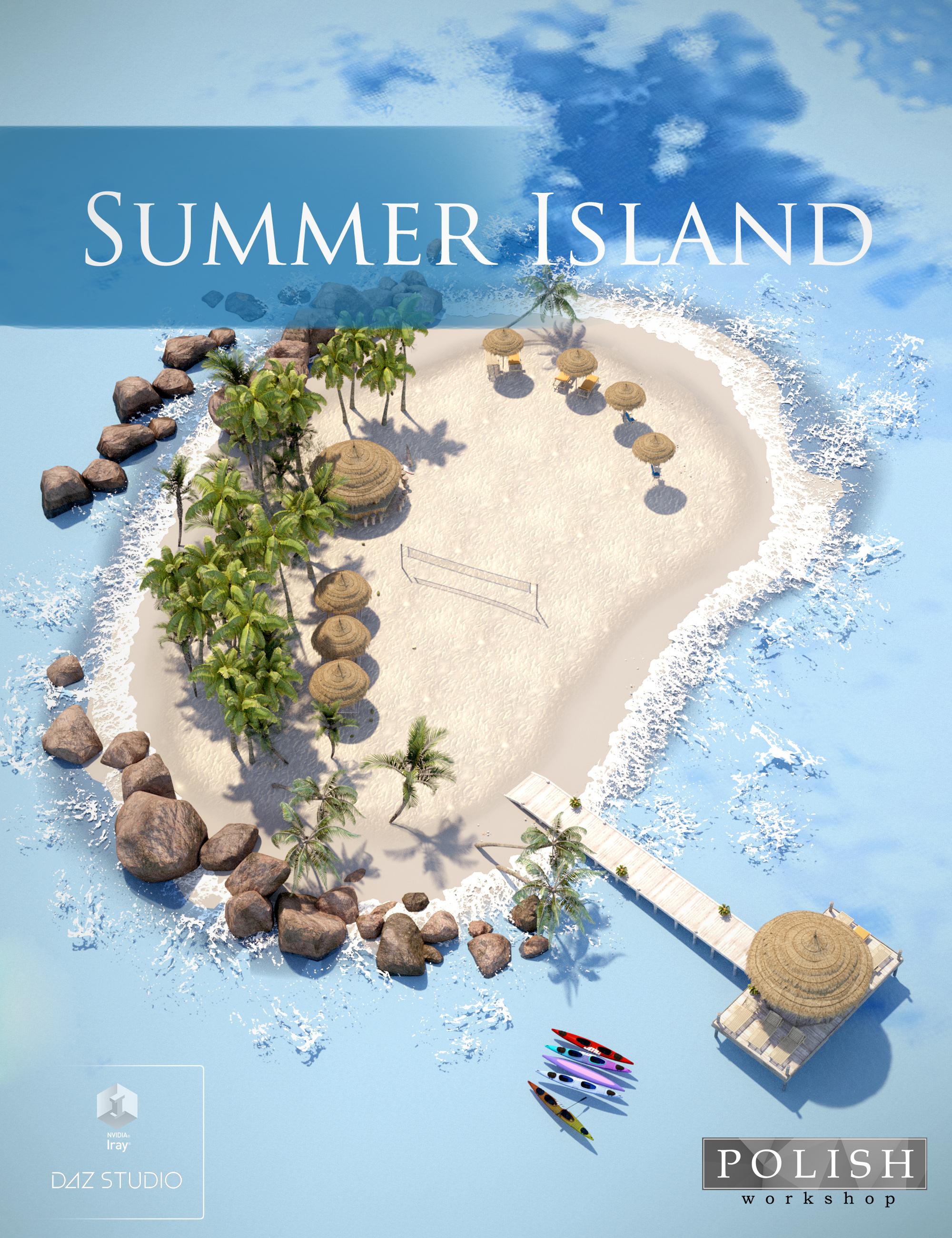 Summer Island by: Polish, 3D Models by Daz 3D