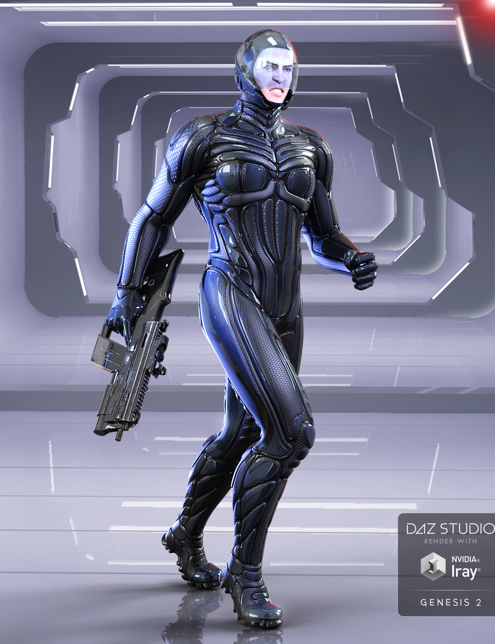 Titan Suit for Genesis 2 Male(s) by: midnight_stories, 3D Models by Daz 3D