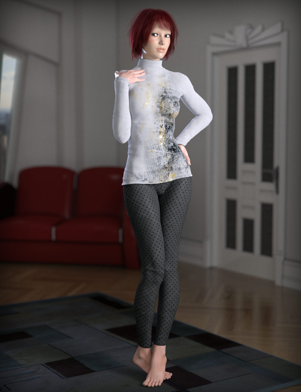 Sunday Casuals: Basics for Genesis 3 Female(s) by: esha, 3D Models by Daz 3D