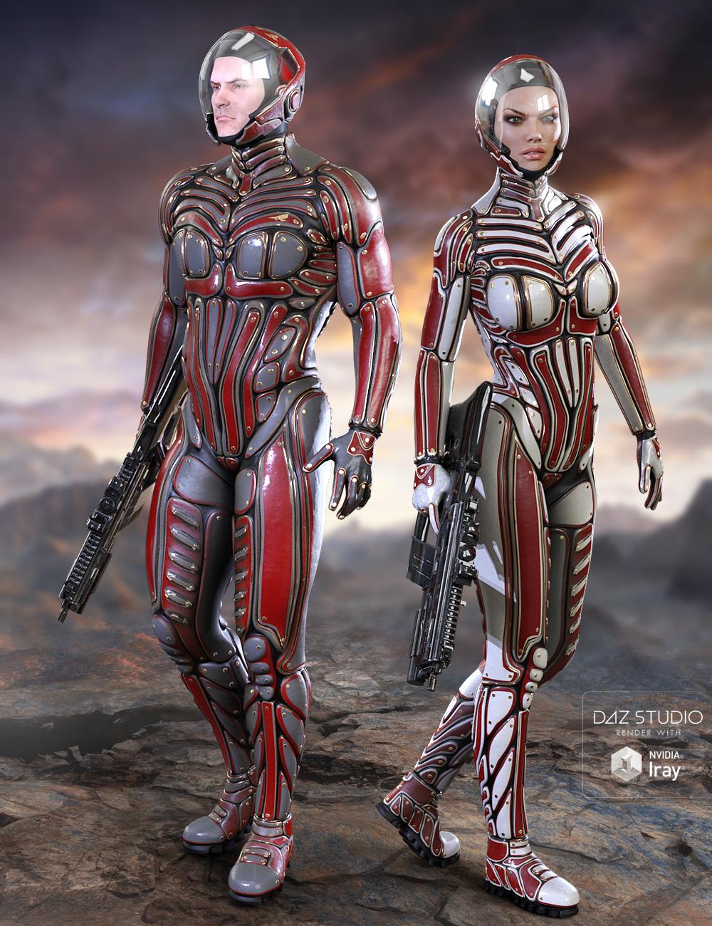 Titan Suit Texture Expansion Set by: midnight_stories, 3D Models by Daz 3D