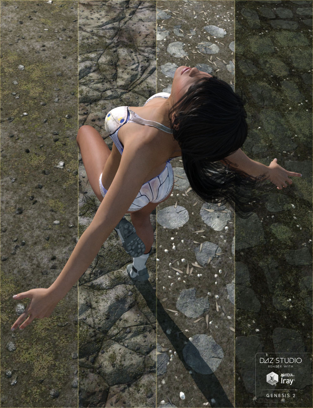 Ground Textures by: vikike176, 3D Models by Daz 3D