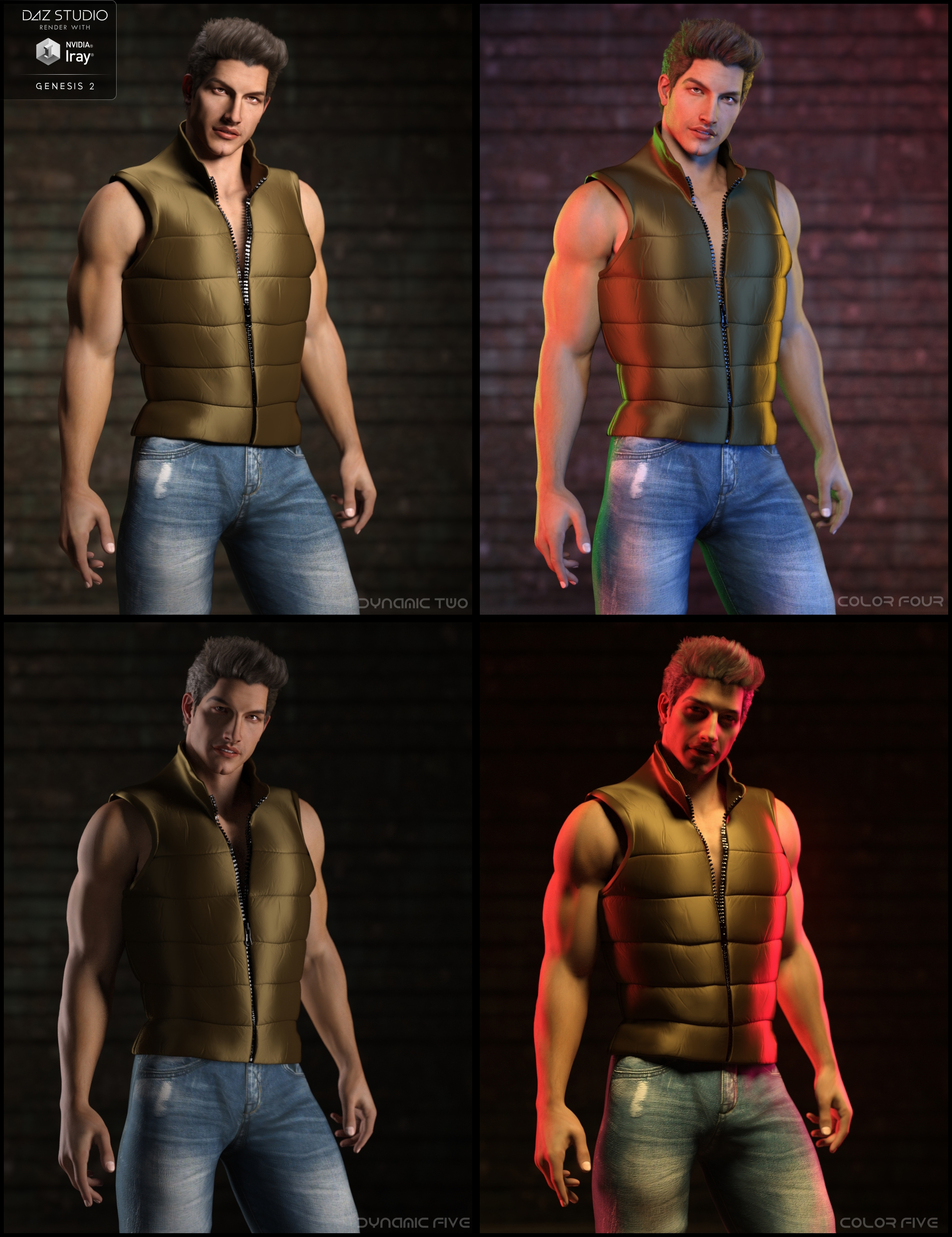 JM Promo Lights for Iray by: JavierMicheal, 3D Models by Daz 3D