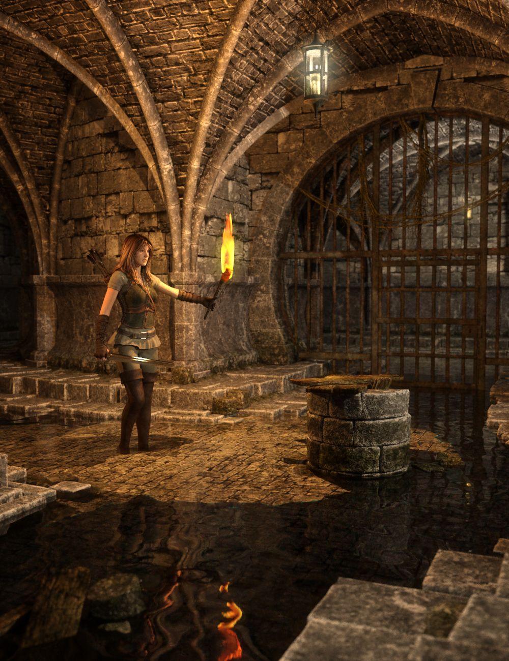 Aqua Subterranea by: Merlin Studios, 3D Models by Daz 3D