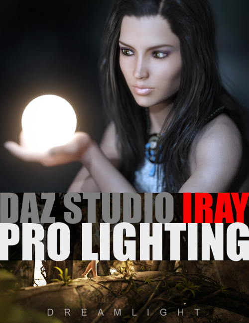 DAZ Studio Iray Pro Lighting by: Dreamlight, 3D Models by Daz 3D