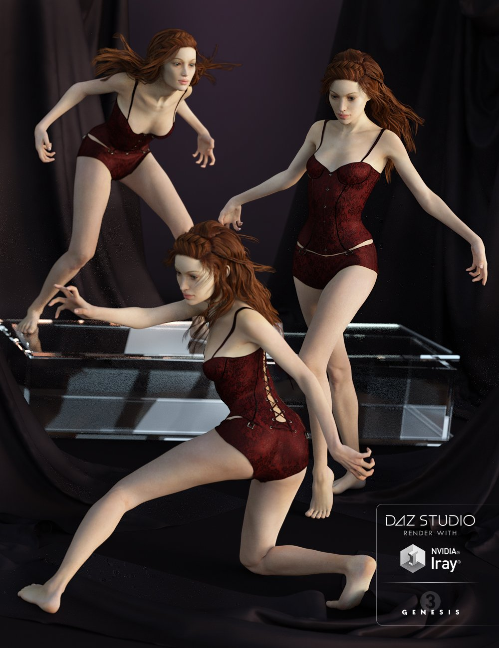 Noctem Sanguinis for Arabella 7 by: Devon, 3D Models by Daz 3D