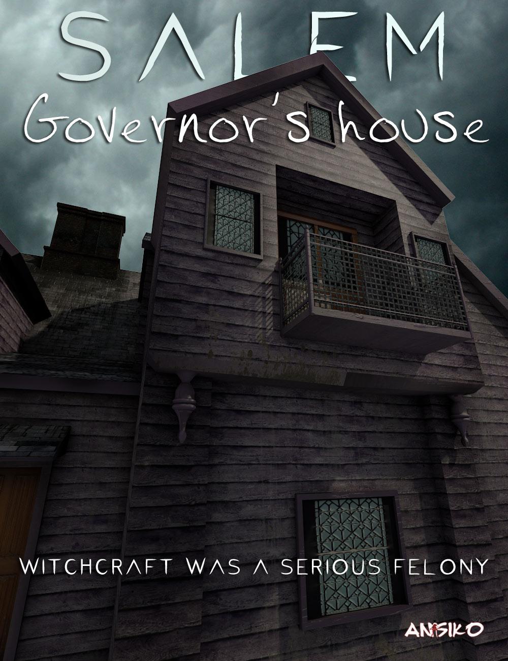 Salem Governor's House by: Ansiko, 3D Models by Daz 3D