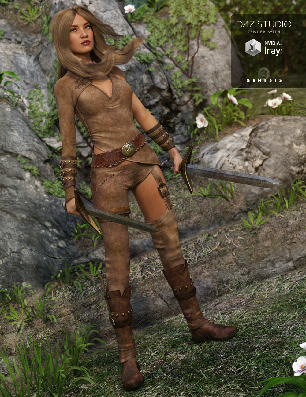 Mischief Outfit for Genesis 3 Female(s) by: , 3D Models by Daz 3D