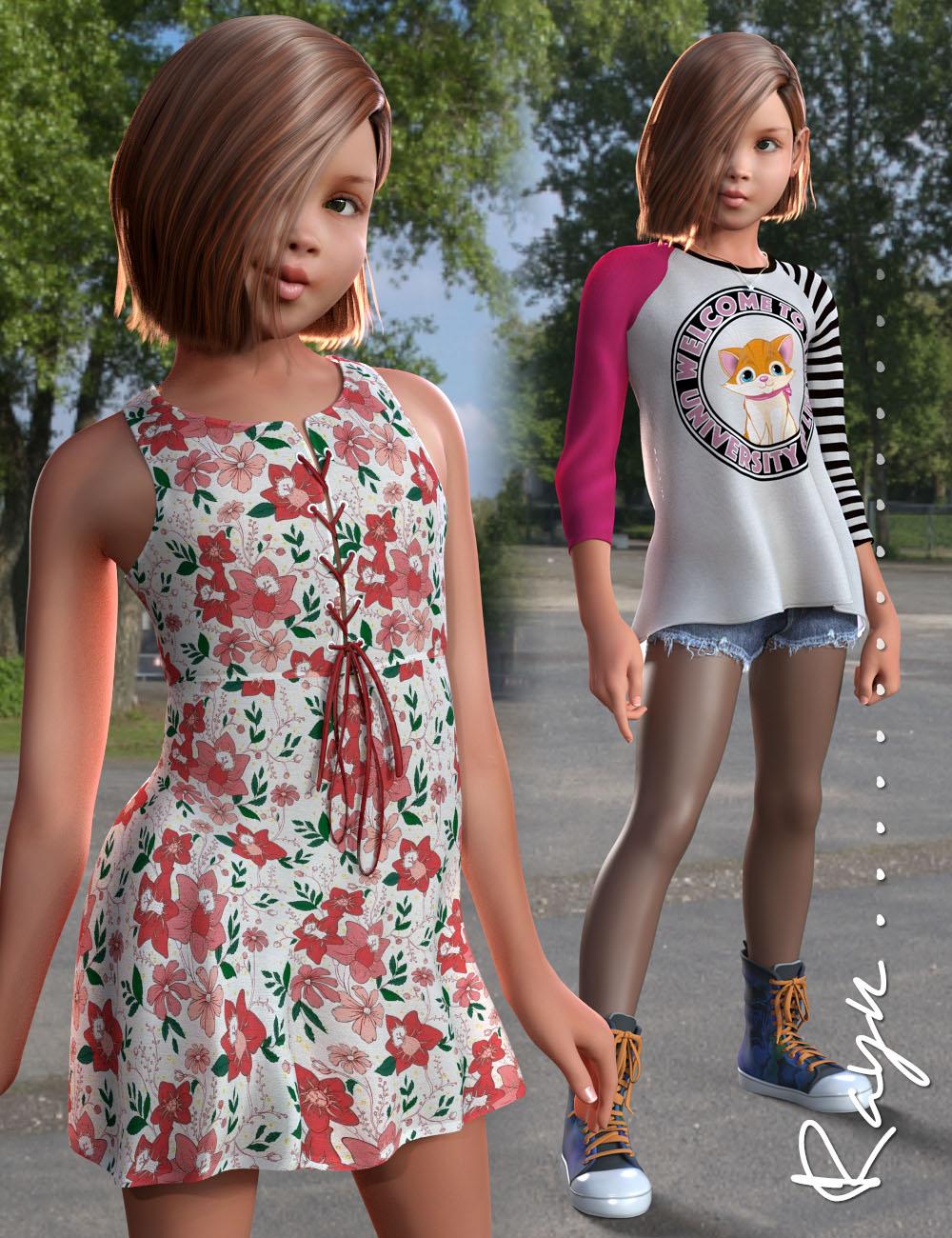 Rayn for Genesis 3 Female(s) Bundle by: 3D Universe, 3D Models by Daz 3D