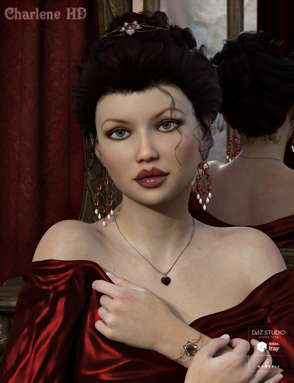 GHD Faces 11+1 for Genesis 3 Female(s) by: 3D-GHDesign, 3D Models by Daz 3D
