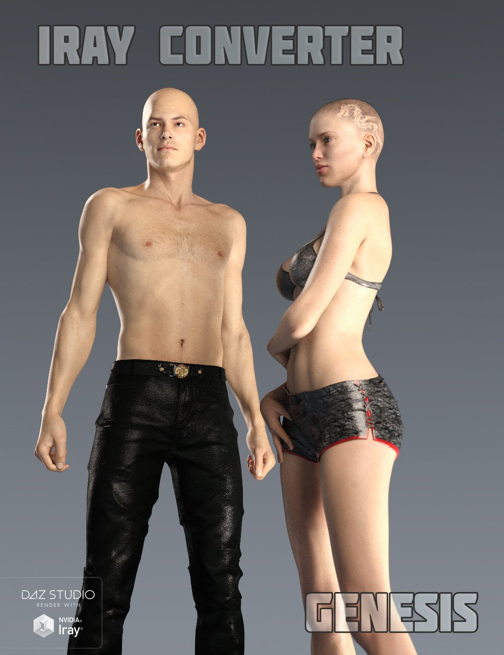 Iray Converter for Genesis by: V3Digitimes, 3D Models by Daz 3D