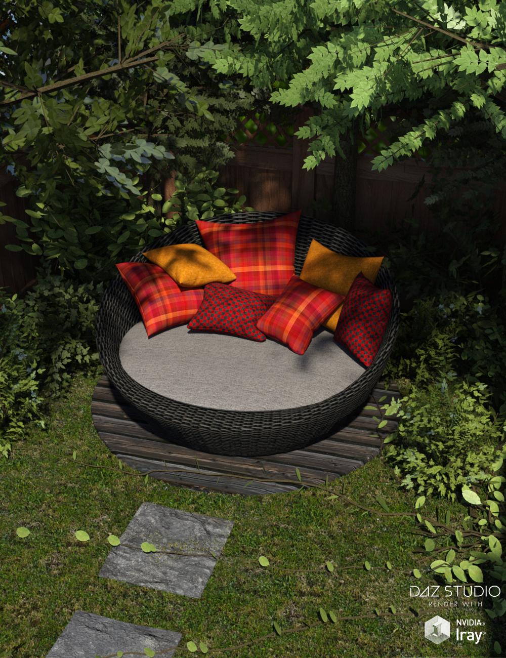 Outdoor Retreat by: Nikisatez, 3D Models by Daz 3D