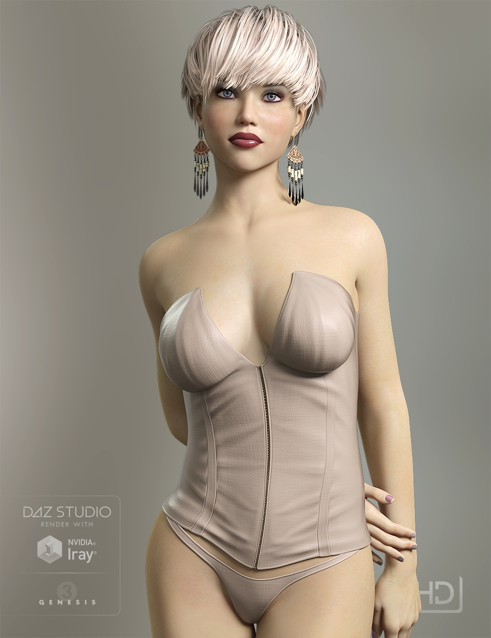 LY Ashlyn HD by: Lyoness, 3D Models by Daz 3D