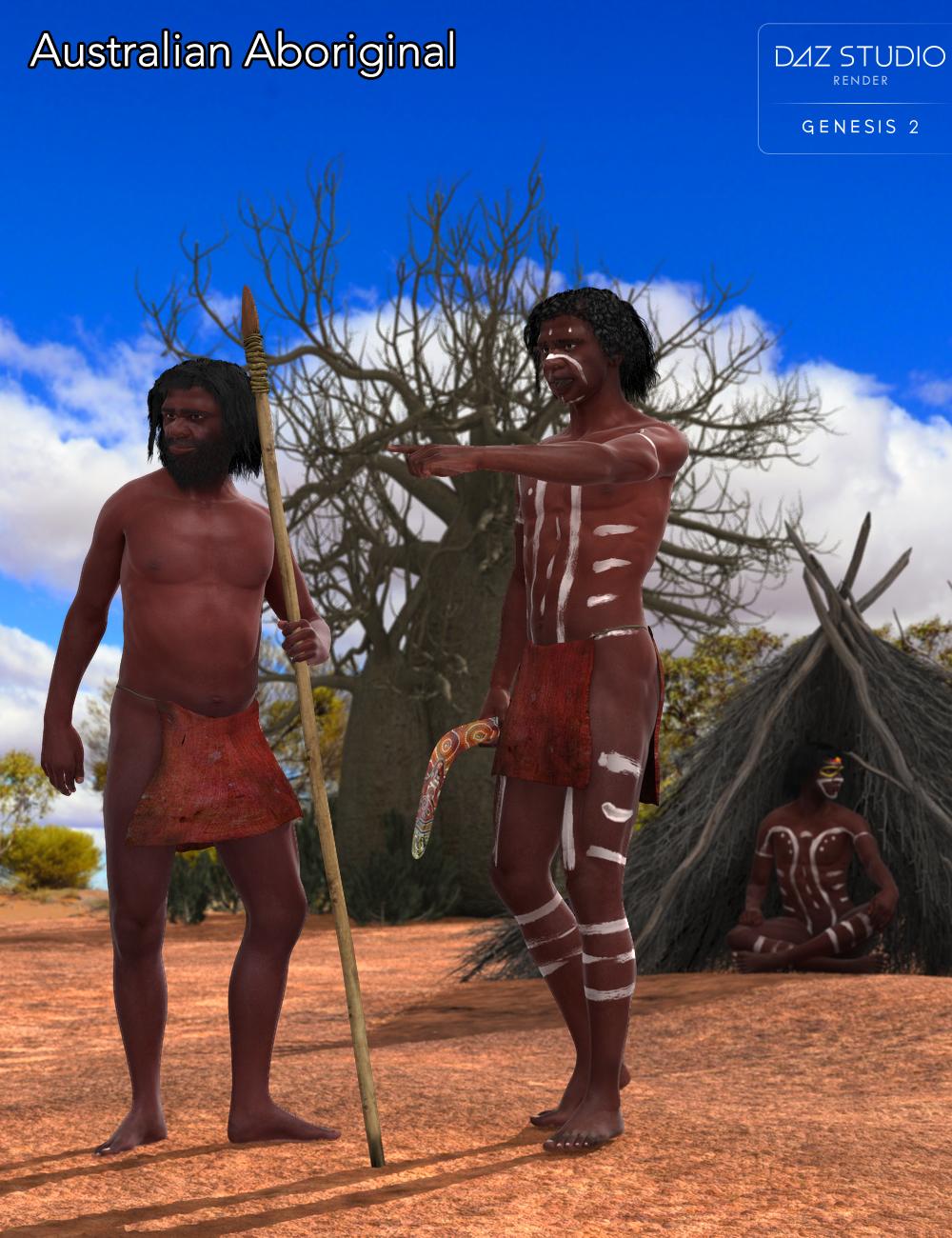 Gurumarra, the Australian Aboriginal by: Alessandro_AMLMX3D, 3D Models by Daz 3D