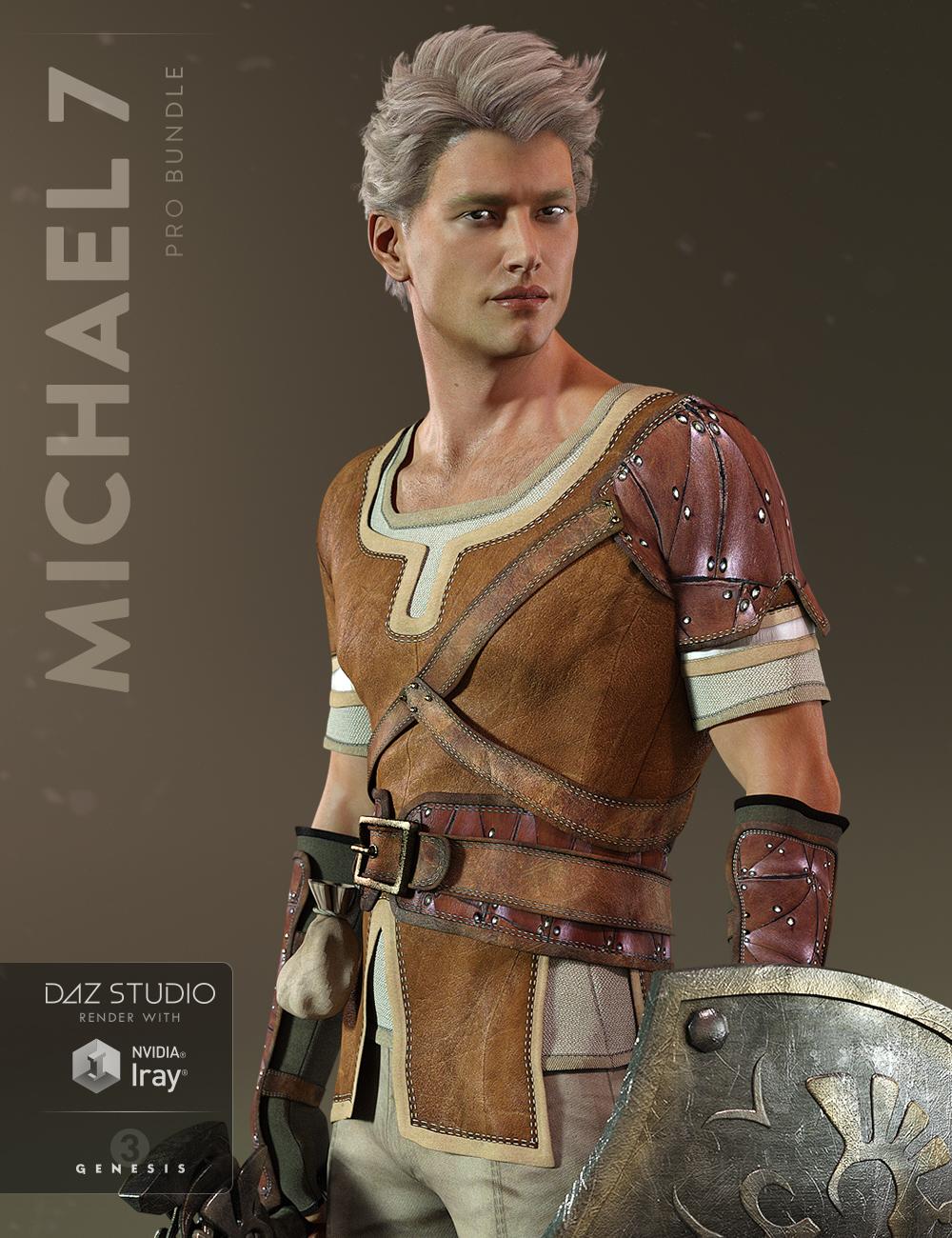 Michael 7 Pro Bundle by: , 3D Models by Daz 3D