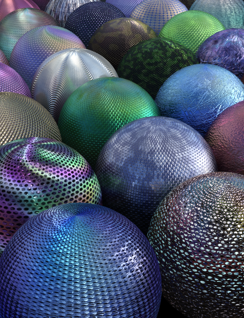 DG Iray Sequins and Scales by: IDG DesignsDestinysGarden, 3D Models by Daz 3D