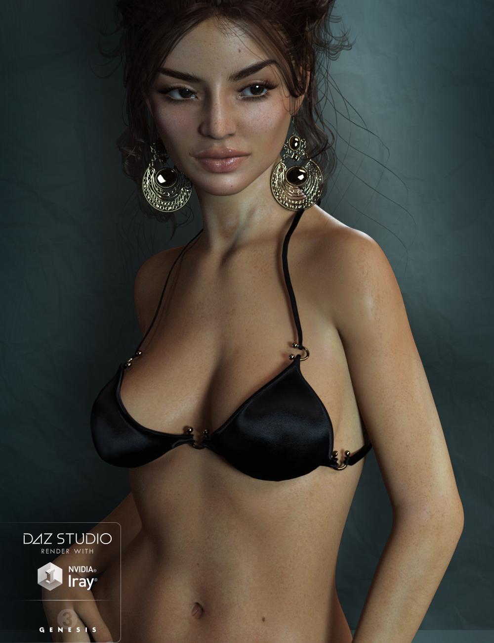 Vincenzina for Genesis 3 Female by: chevybabe25, 3D Models by Daz 3D