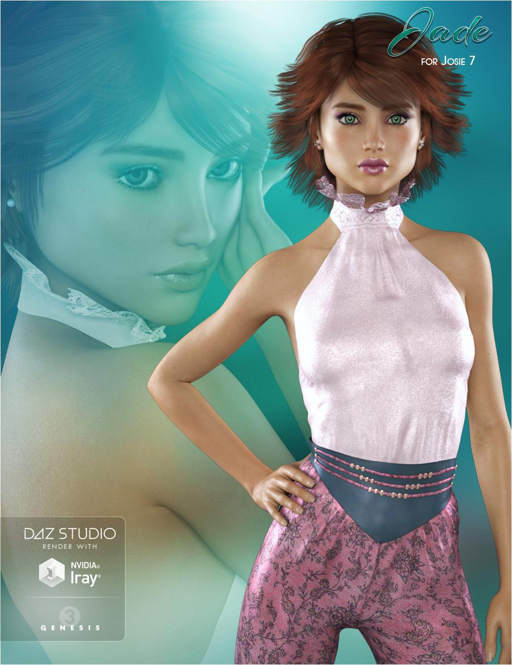 FWSA Jade HD for Teen Josie 7 by: Fred Winkler ArtSabby, 3D Models by Daz 3D