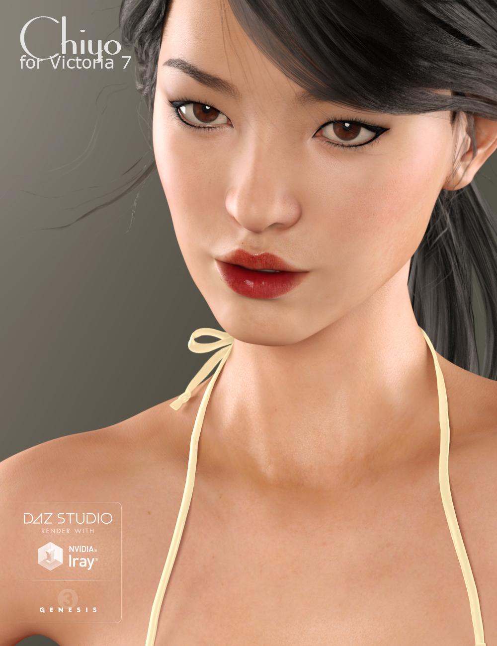 Chiyo for Victoria 7 by: Raiya, 3D Models by Daz 3D