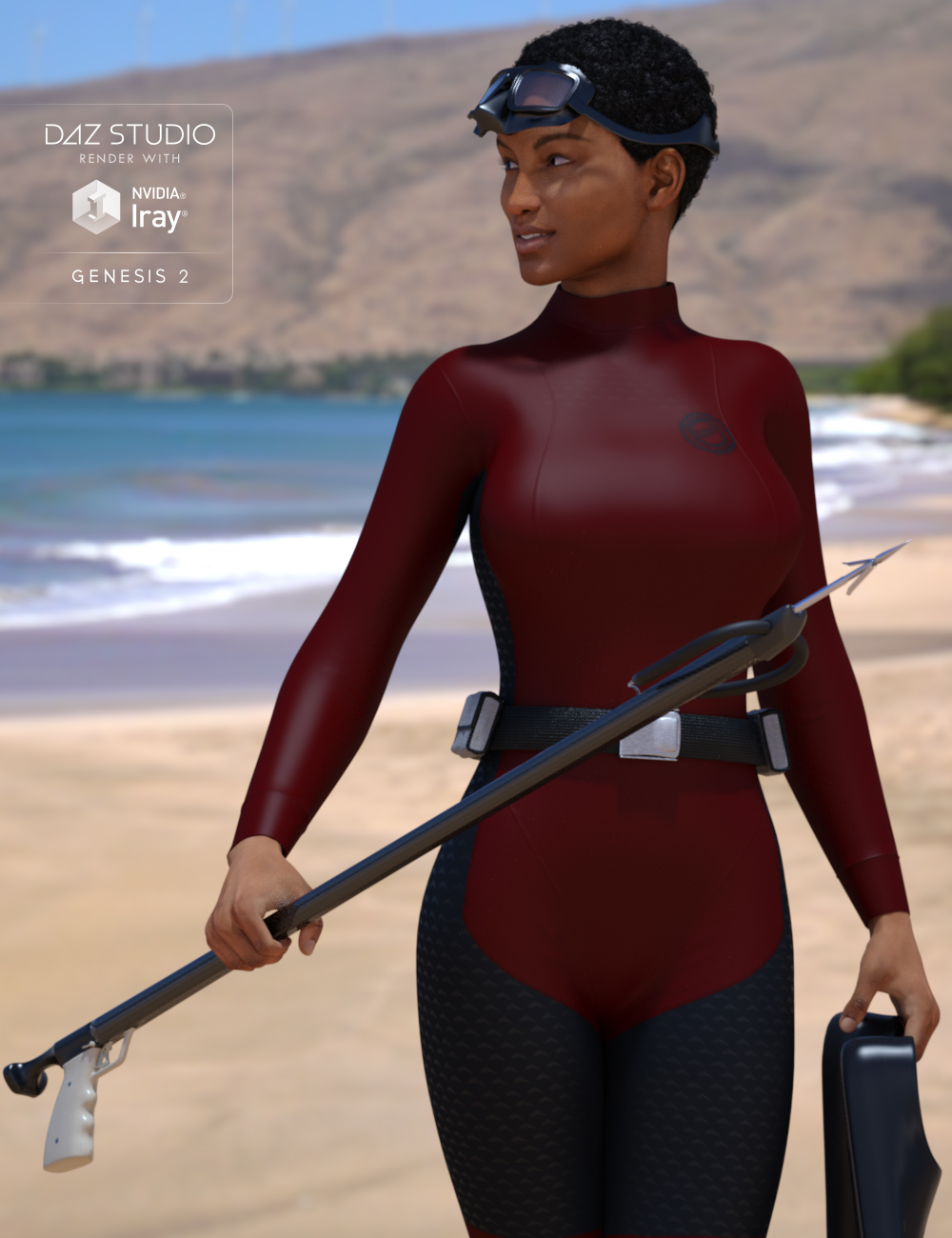 Spearguns by: HolbeinC, 3D Models by Daz 3D