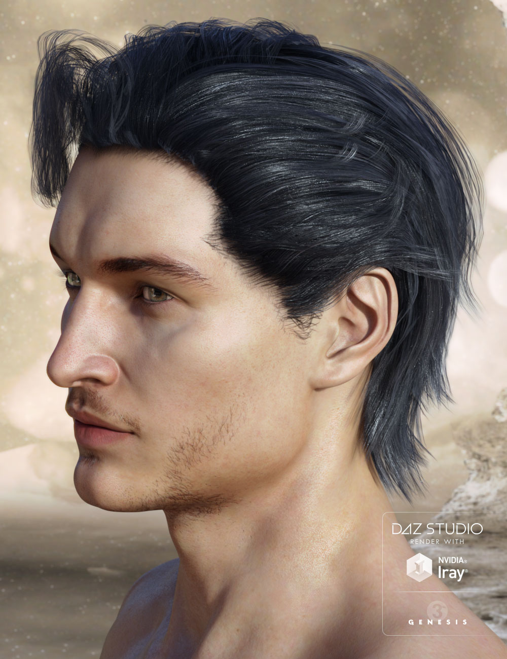 Finlay Hair by: AprilYSH, 3D Models by Daz 3D