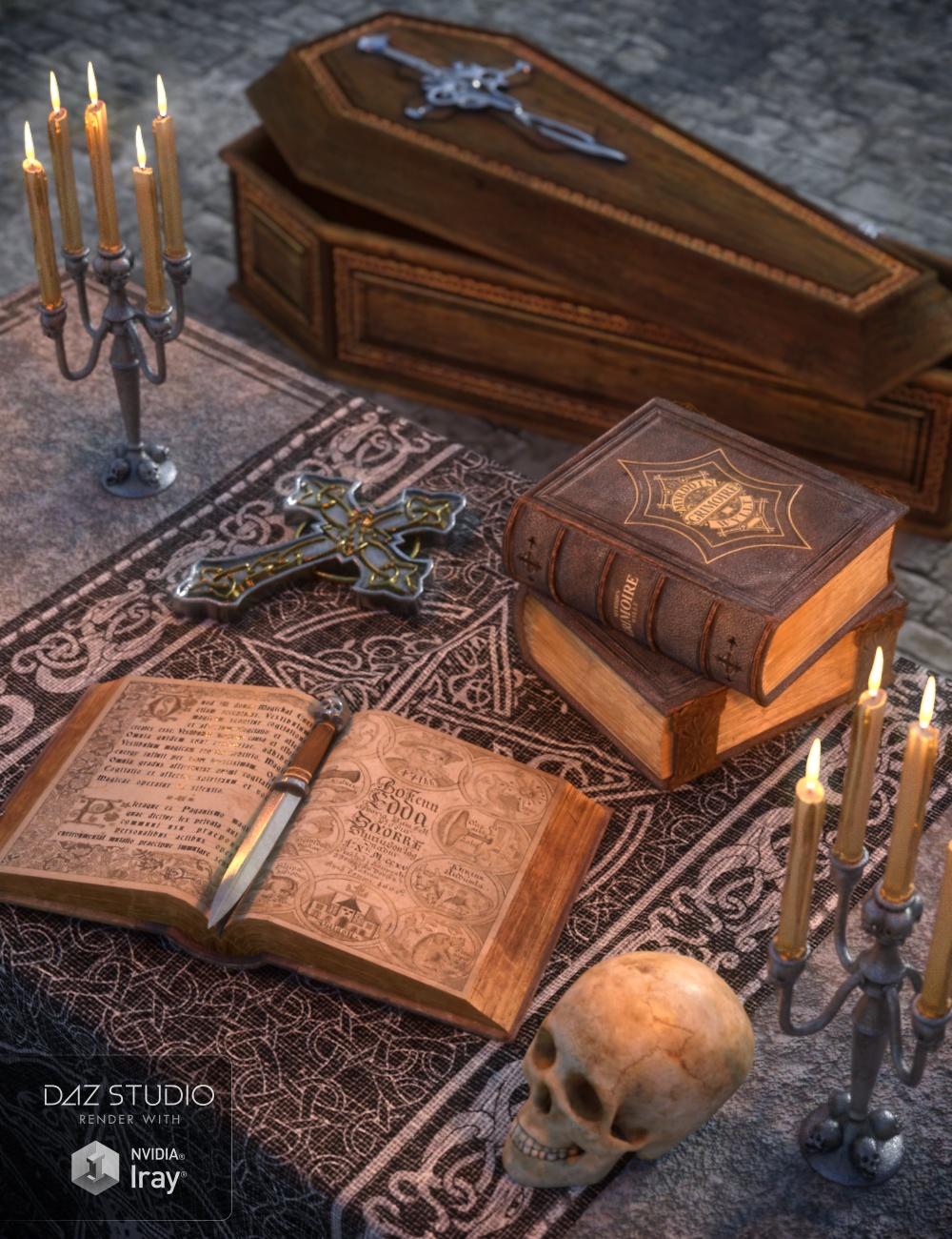 Mortuorum Sacris by: Merlin Studios, 3D Models by Daz 3D