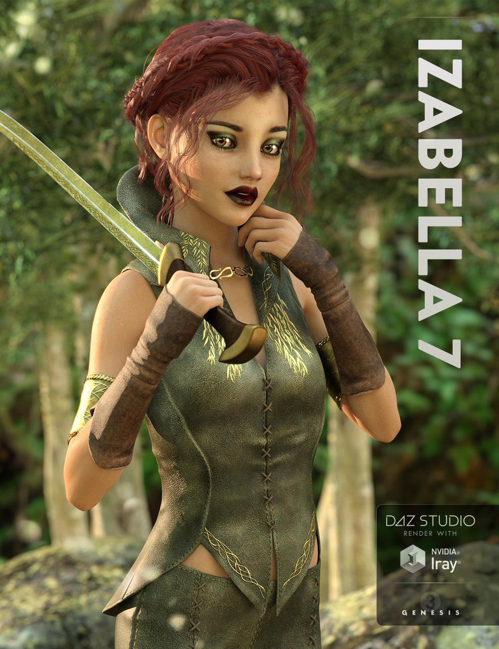 Izabella 7 by: , 3D Models by Daz 3D