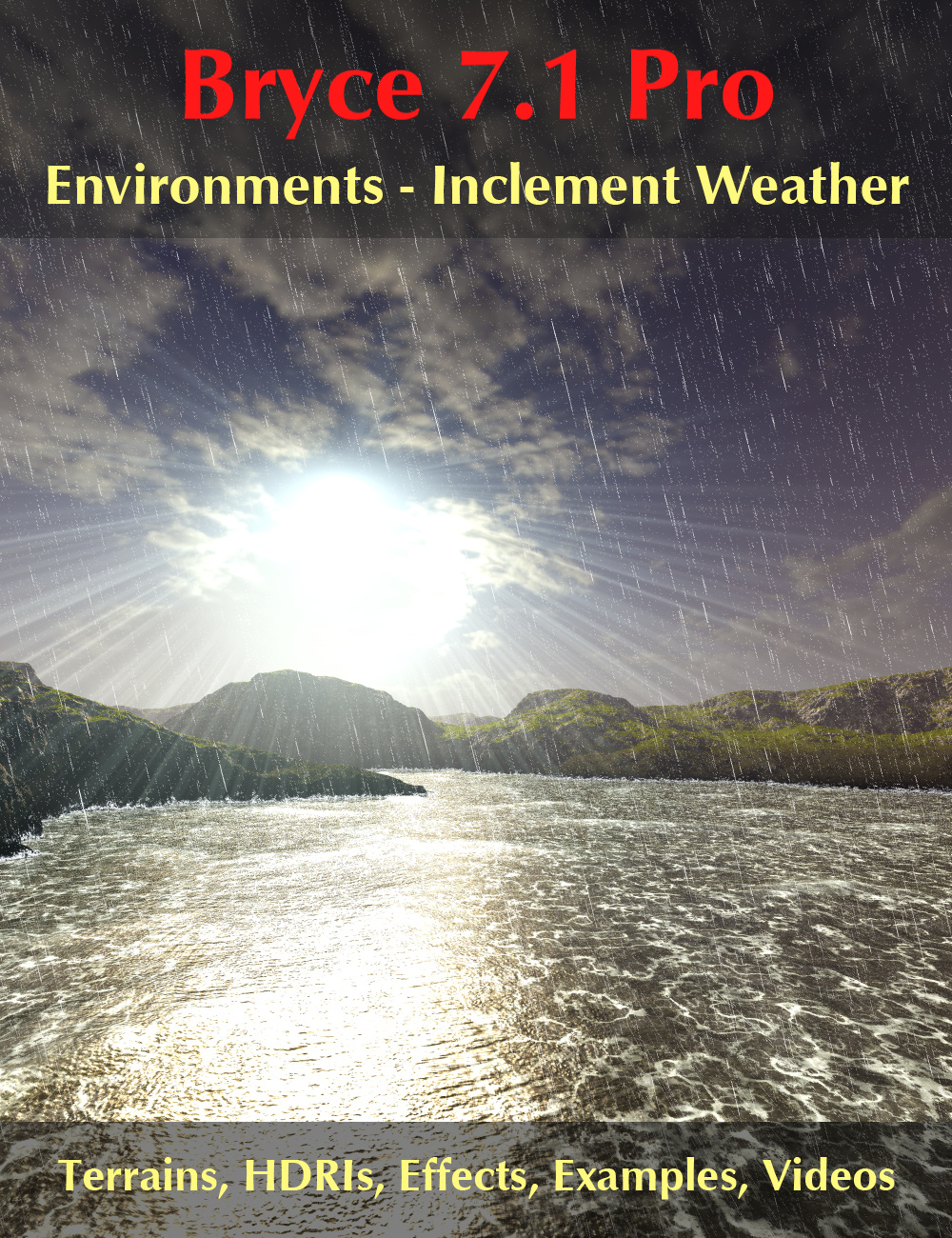 Bryce 7.1 Pro - Environments - Inclement Weather by: David BrinnenHoro, 3D Models by Daz 3D