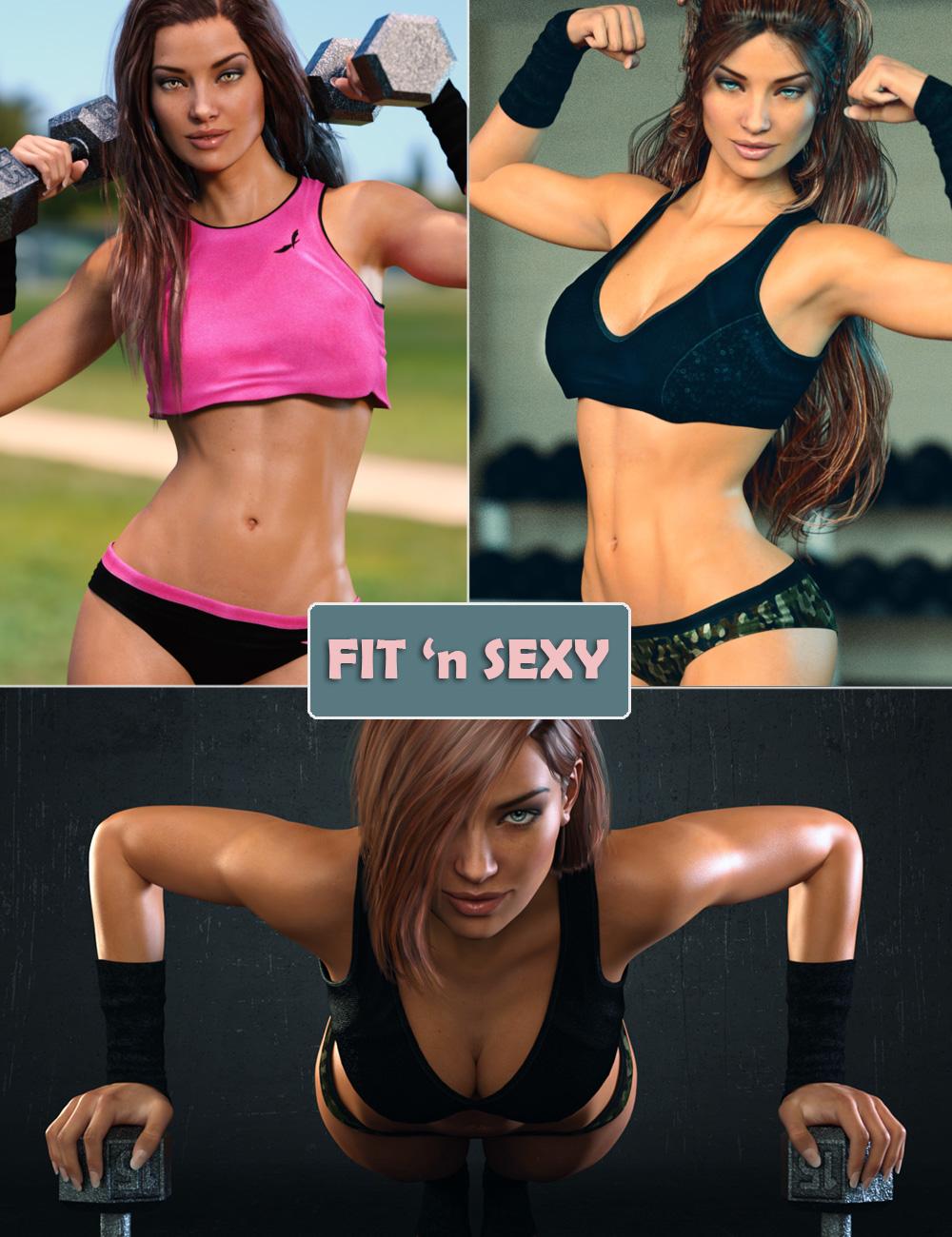 DM's FIT 'n SEXY Bundle by: marfornoDanie, 3D Models by Daz 3D