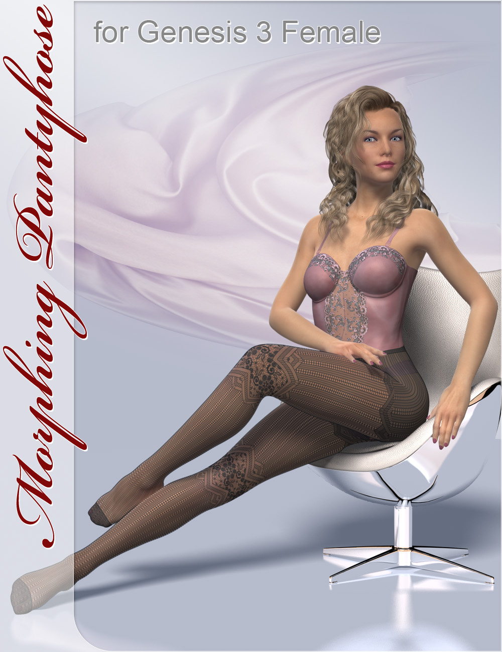 Morphing Pantyhose for Genesis 3 and 8 Female(s) by: CJ-Studio, 3D Models by Daz 3D