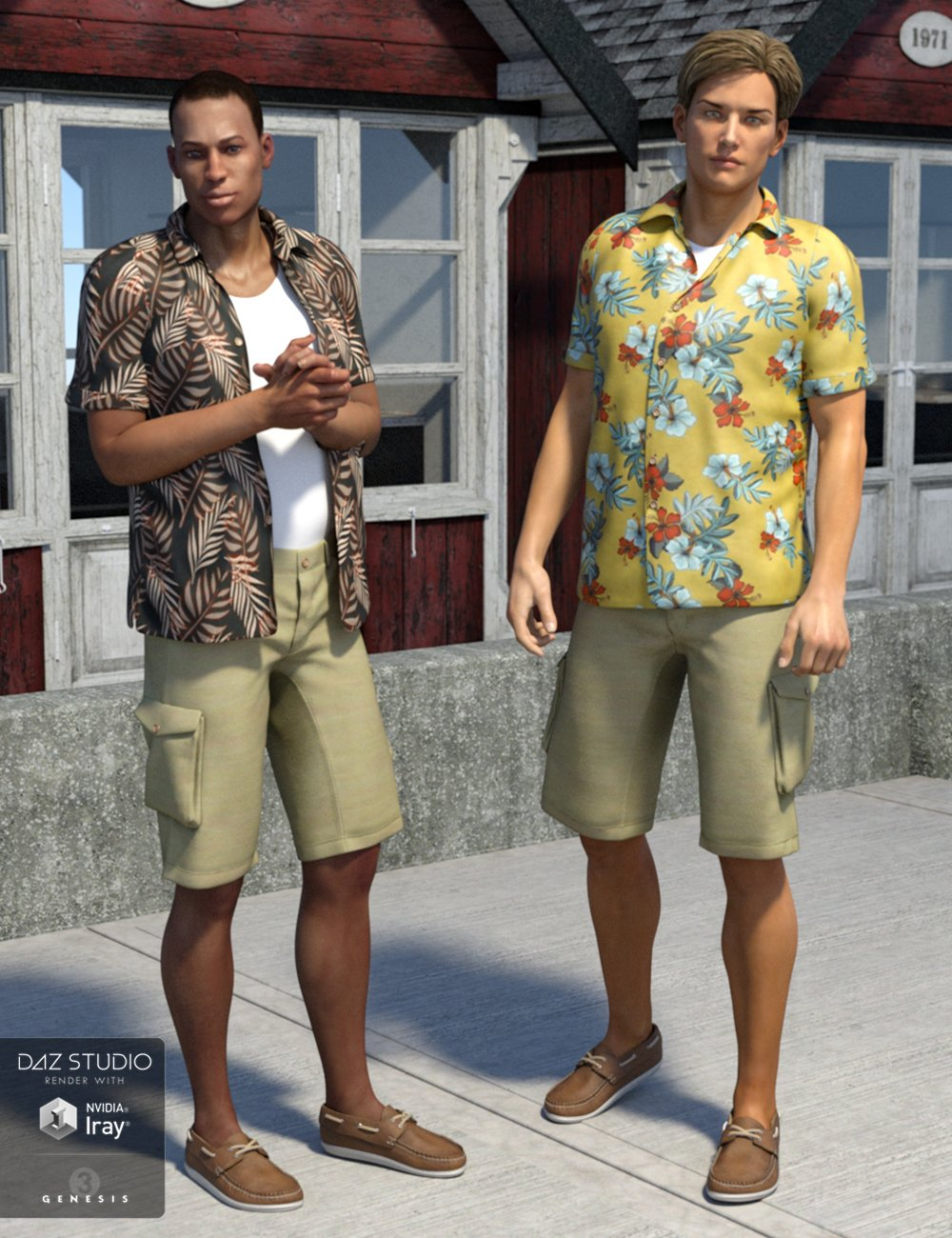 Just Josh for Genesis 3 Male(s) by: SloshWerks, 3D Models by Daz 3D
