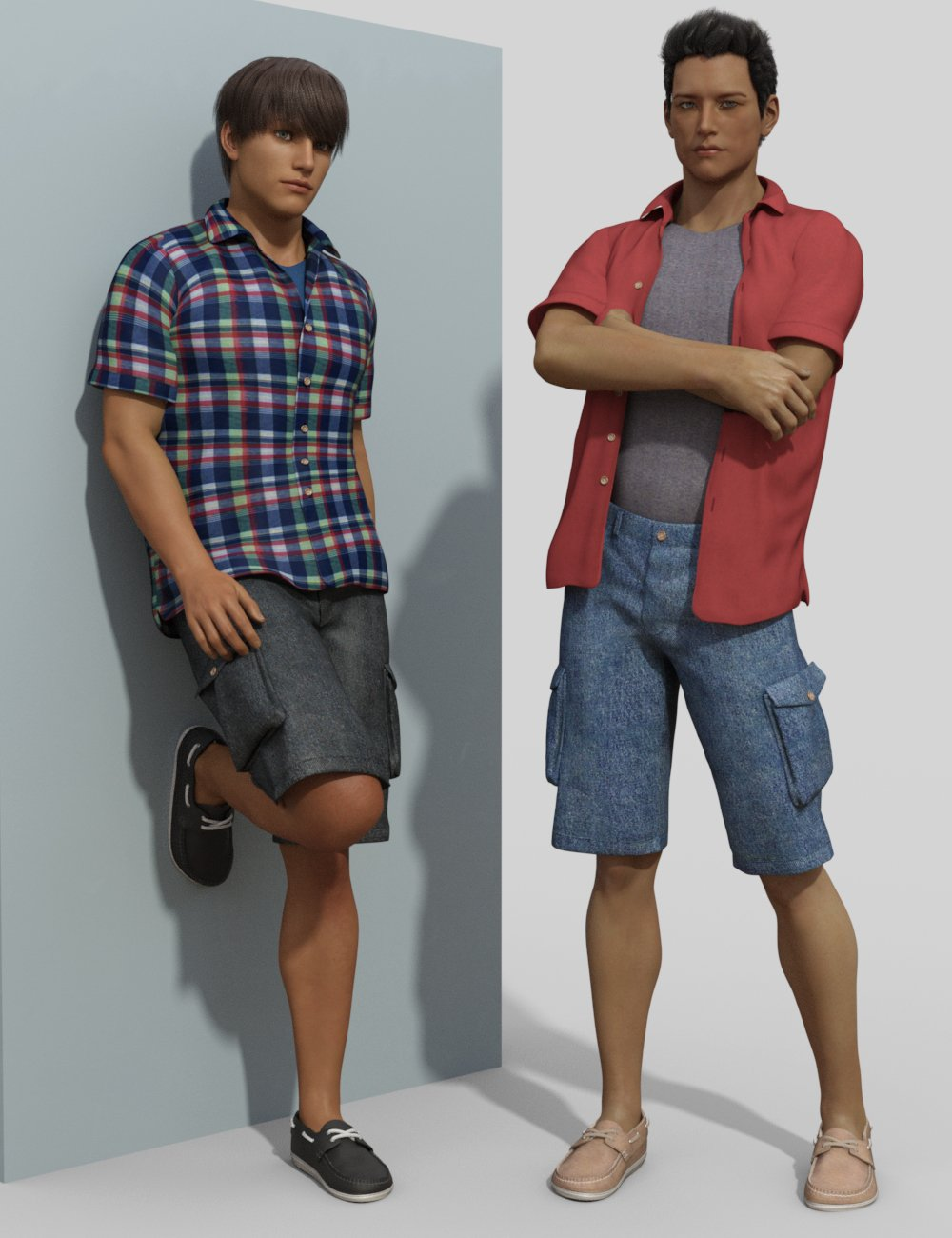 Just Josh Texture Pack by: SloshWerks, 3D Models by Daz 3D