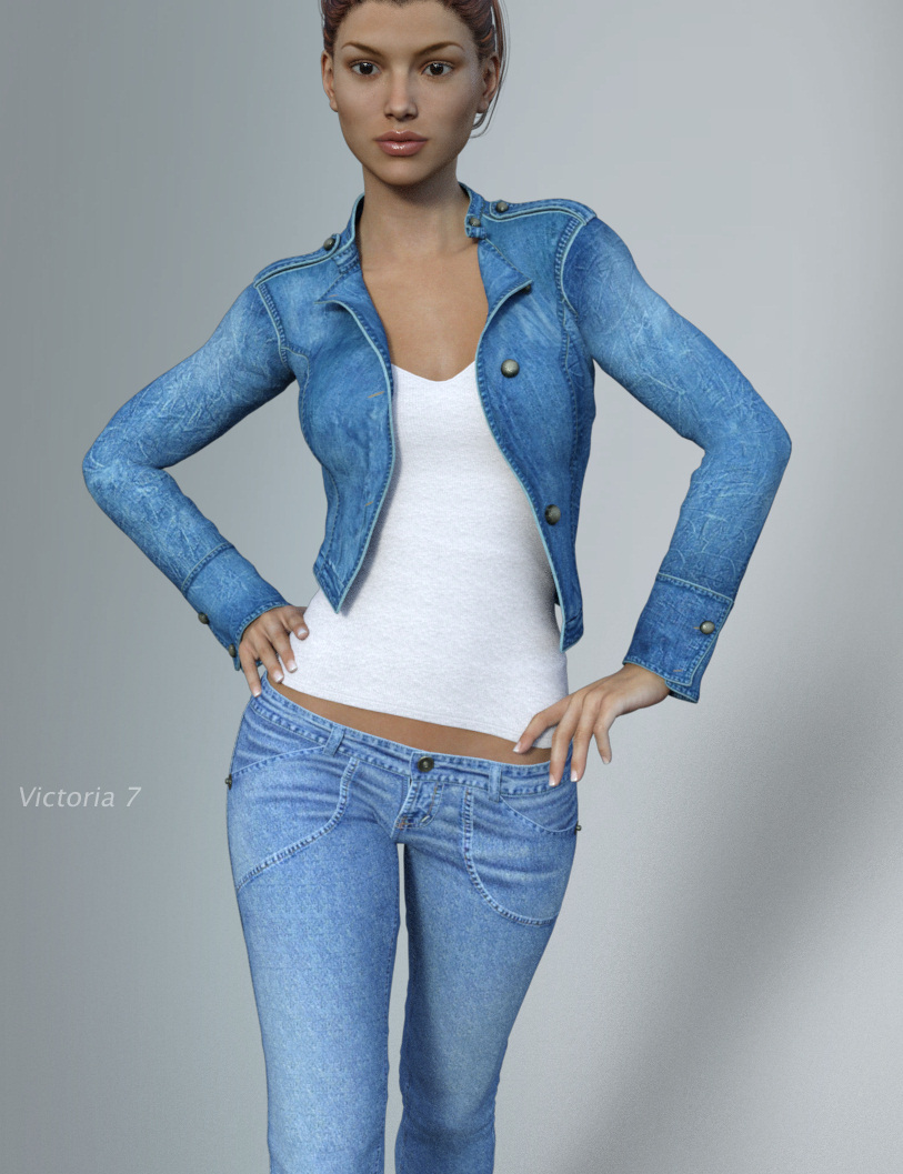 Hongyu's Cowgirl 3 for Genesis 3 Female(s) by: hongyu, 3D Models by Daz 3D