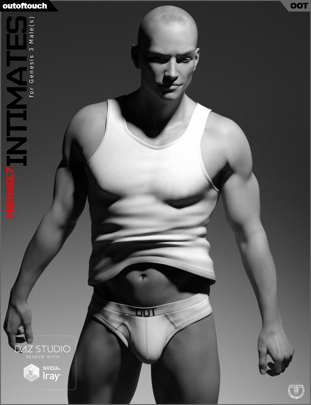 Michael 7 Intimates for Genesis 3 Male(s) by: outoftouch, 3D Models by Daz 3D