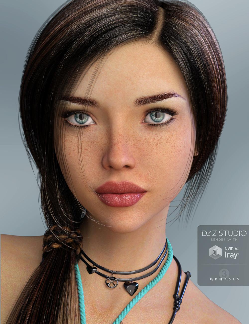 P3D Celine by: P3Design, 3D Models by Daz 3D