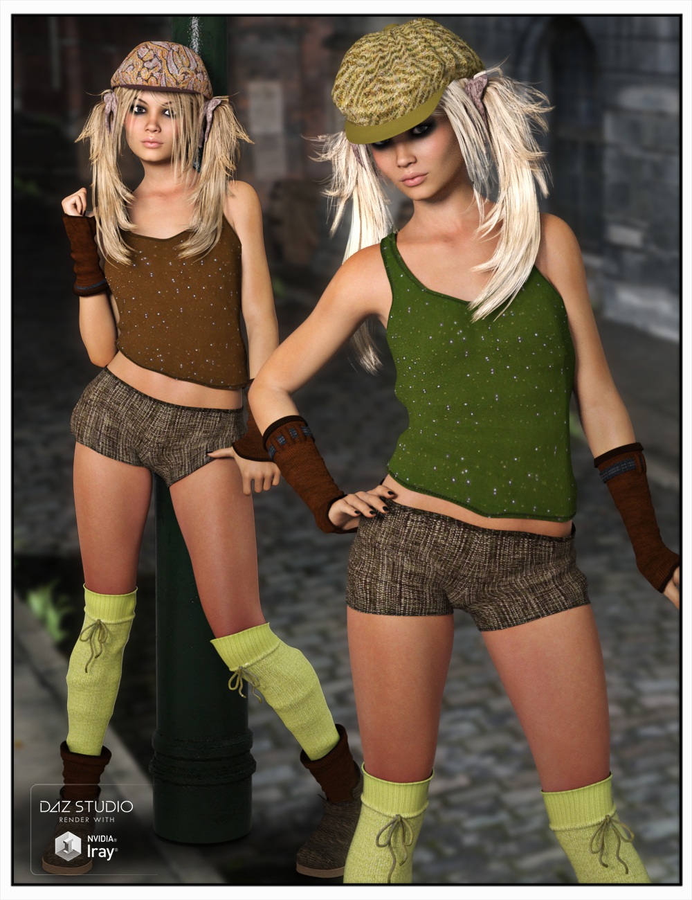 Miss Octavia´s Outfit by: SWAM, 3D Models by Daz 3D