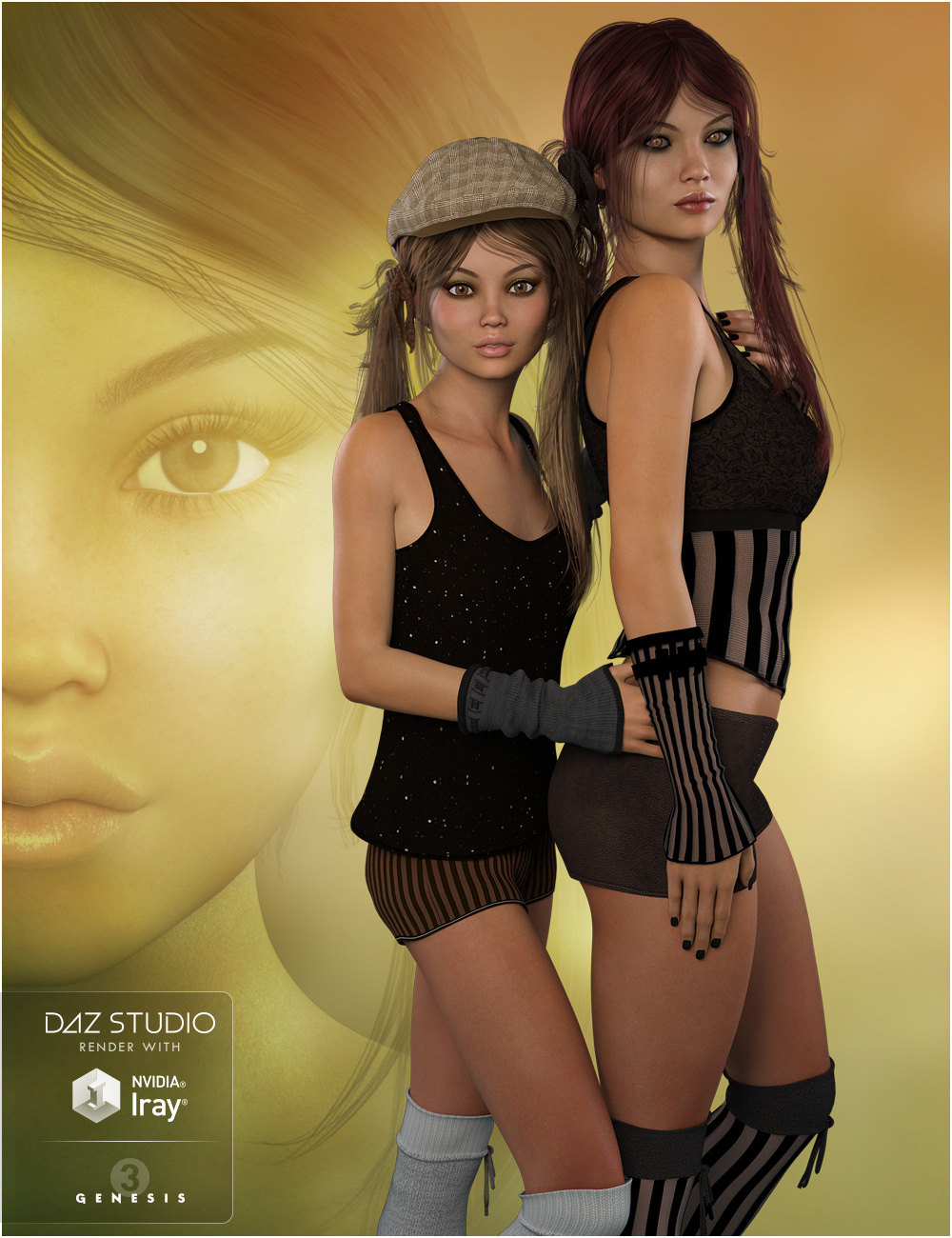 FWSA Octavia HD for Teen Josie 7 and Genesis 3 Female(s) by: Fred Winkler ArtSabby, 3D Models by Daz 3D