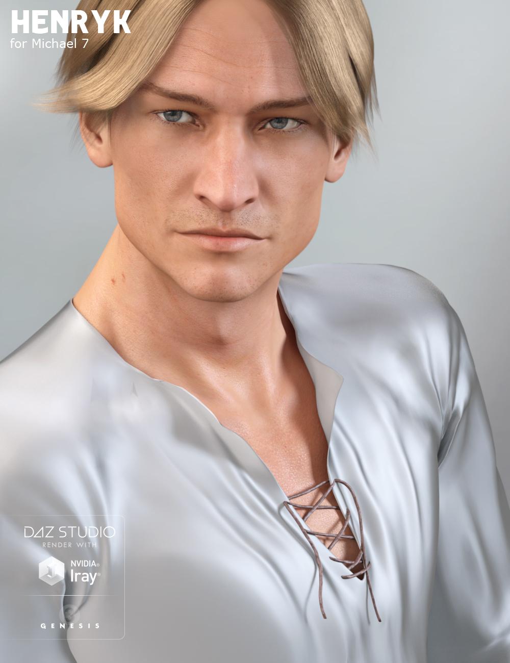 Henryk for Michael 7 by: Raiya, 3D Models by Daz 3D