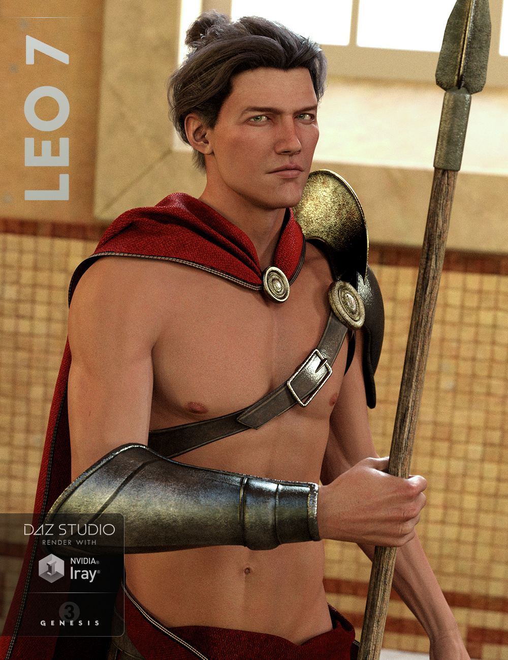 Leo 7 by: , 3D Models by Daz 3D