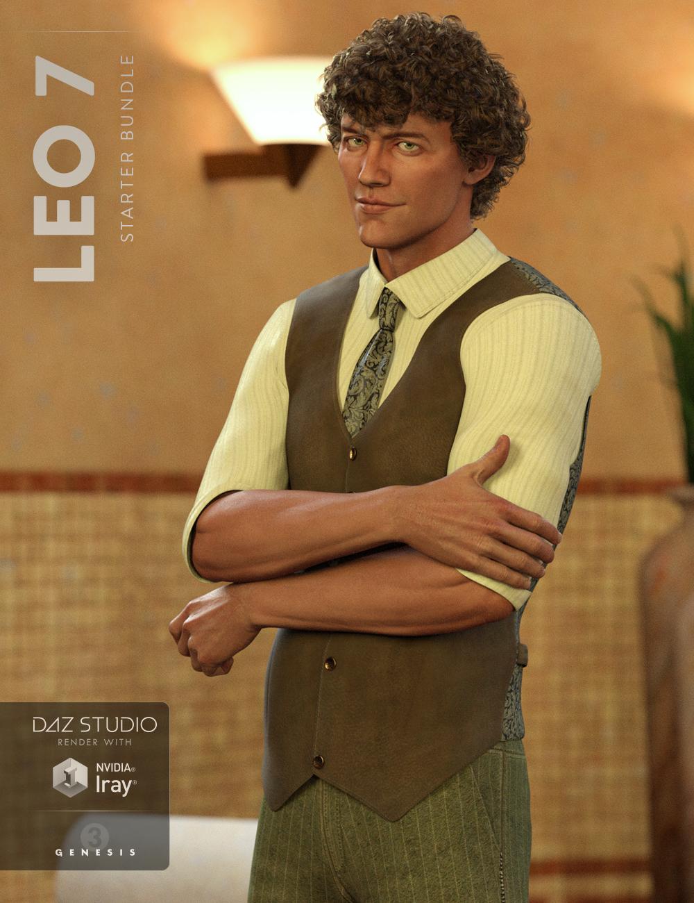 Leo 7 Starter Bundle by: , 3D Models by Daz 3D