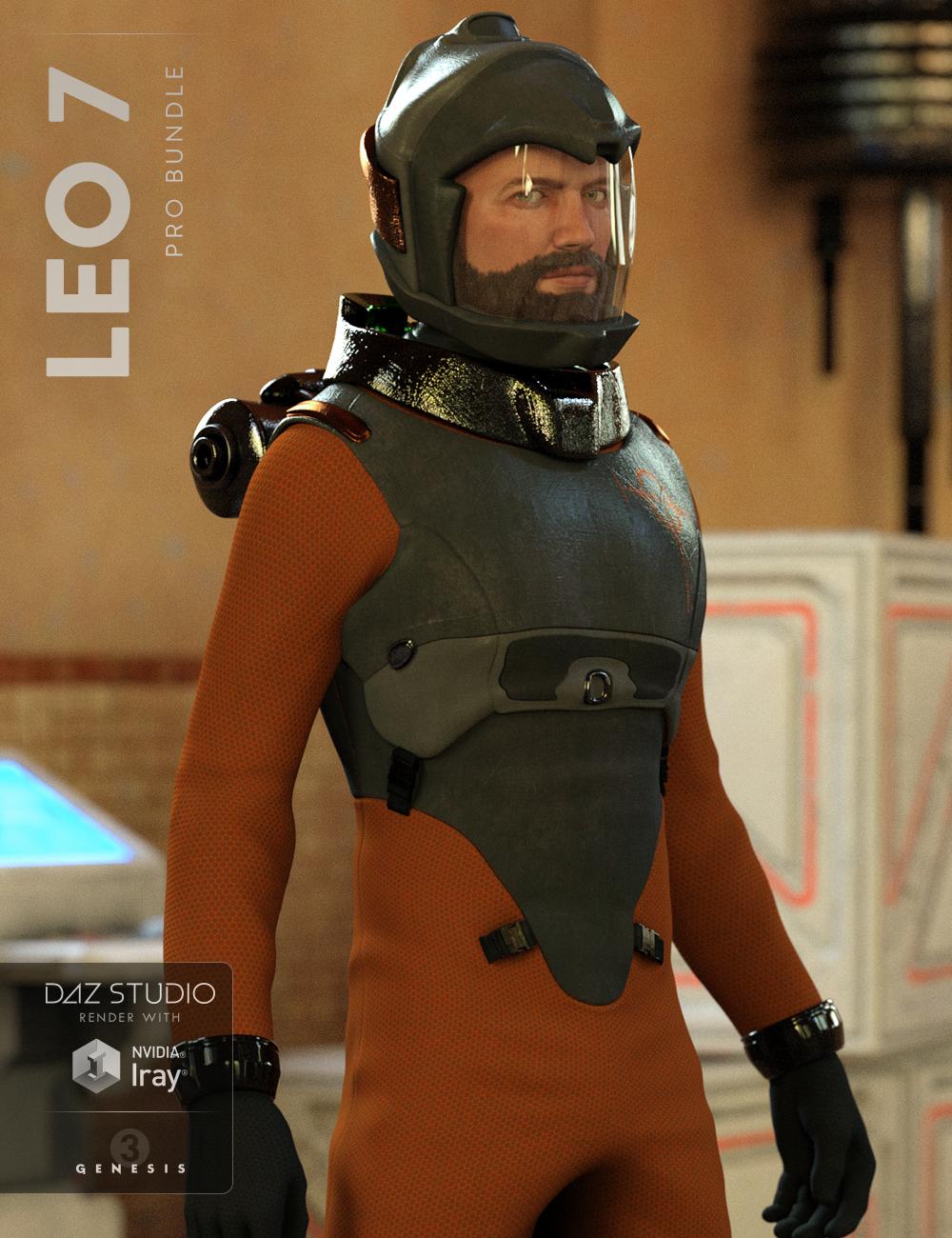 Leo 7 Pro Bundle by: , 3D Models by Daz 3D